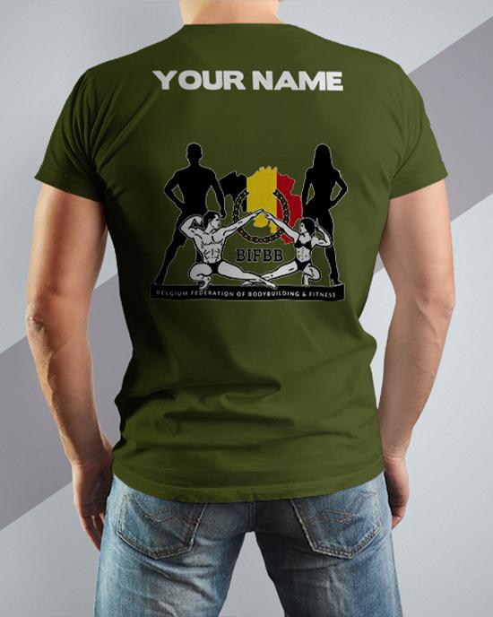 BIFBB personalized T-shirt Z