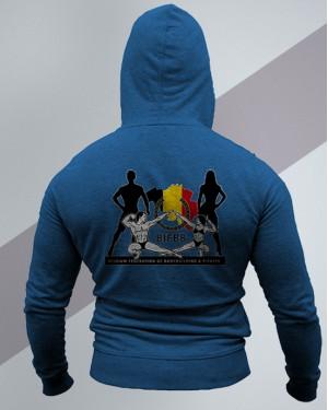 Hoodie UNITED blue