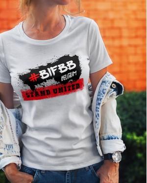 T-shirt BIFBB Stand United women