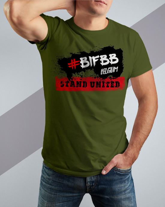 BIFBB STAND UNITED T-shirt AG