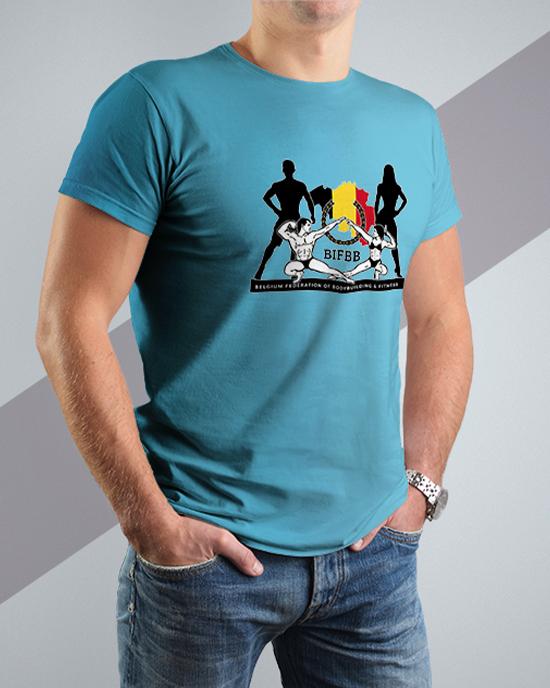 BIFBB personalized T-shirt B