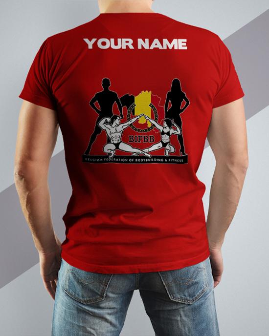 BIFBB personalized T-shirt R