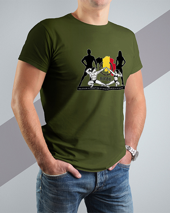 BIFBB personalized T-shirt AG