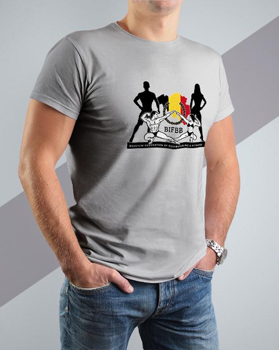 BIFBB personalized T-shirt G