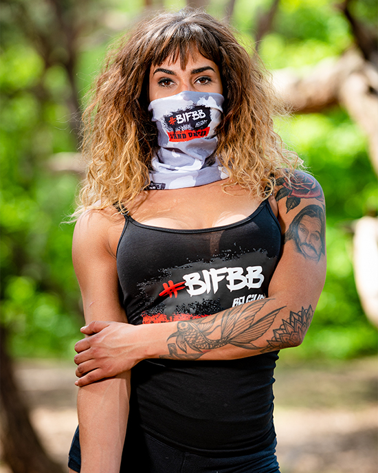 BIFBB Stand United Bandana